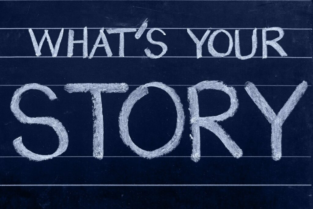 whats your story logo